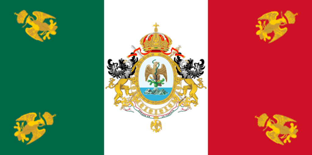 Banera del II Imperio  Maximiliano