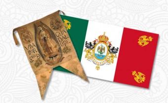 Evolucion Bandera Mexico