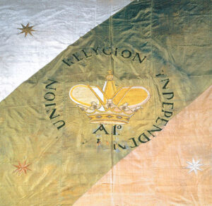Bandera Trigarante Original