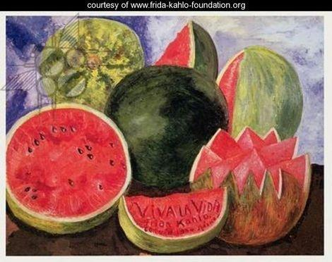 Viva la Vida by Frida Kahlo 1954