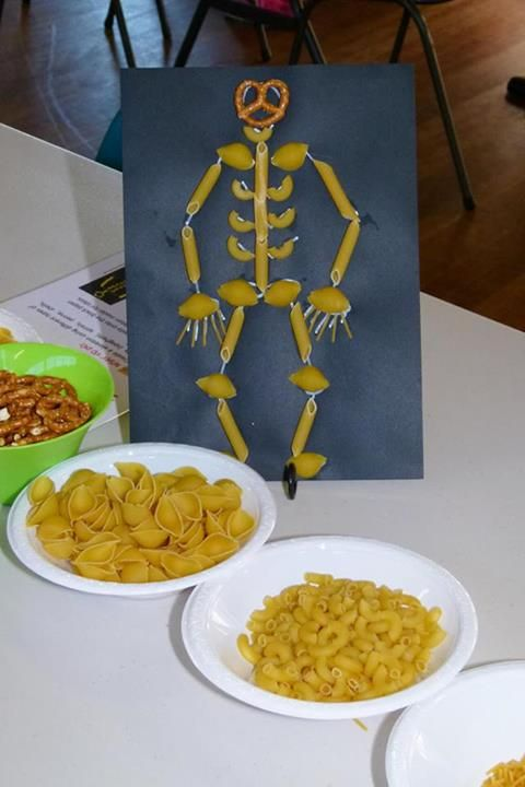 Pasta Skeleton by Becoming Homegrown