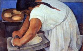 La Molienda by Diego Rivera
