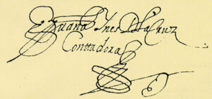Sor Juana Signature