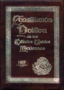 Portada Original Consitucion 1917
