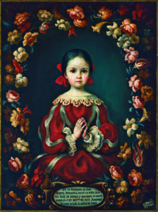 Sor Juana Ines as a Child