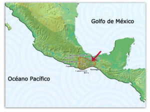 Area que Ocuparon los Zapotecos