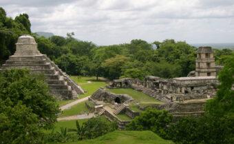 Palenque Sitio Arqueologico Maya