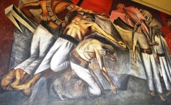 La Trinchera by Jose Clemente Orozco