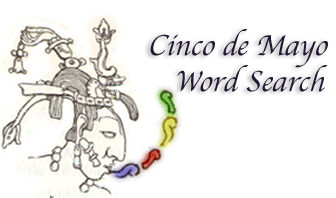 Cinco de Mayo Word Search, Find The Words and Complete the Hidden Message!