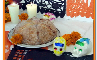 Pan de Muerto ~ Day of the Dead Bread