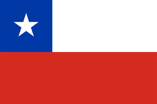 Hispanic Flags Inside Mexico