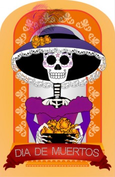 Im A Parent Volunteer At My Daughters School This Year I Am Teaching Spanish Native Tongue To Our Kindergarten Class For El Dia De Los Muertos We
