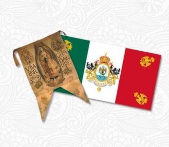 Evolución Histórica De La Bandera Mexicana Inside Mexico