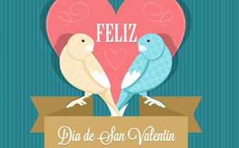 Feliz San Valentin -Fotolia