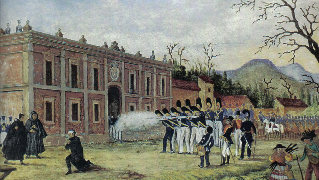 Firing Squad Kills Morelos