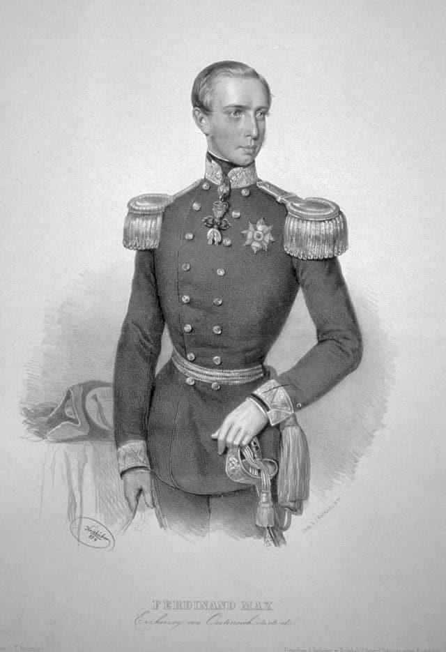 Ferdinand_Maximilian_of_Austria_Litho