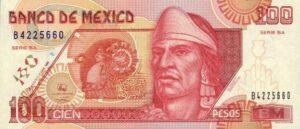 Billete_$100_Mexico_Tipo_D_Anverso