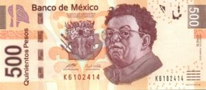Billete_$500_Mexico_Tipo_F_Anverso