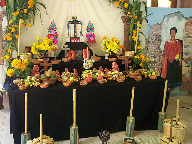 The day of the dead ofrenda inside mexico ofrendas are an essential part of the day of the dead celebrations the word ofrenda means offering in spanish they are also called altares or altars mightylinksfo