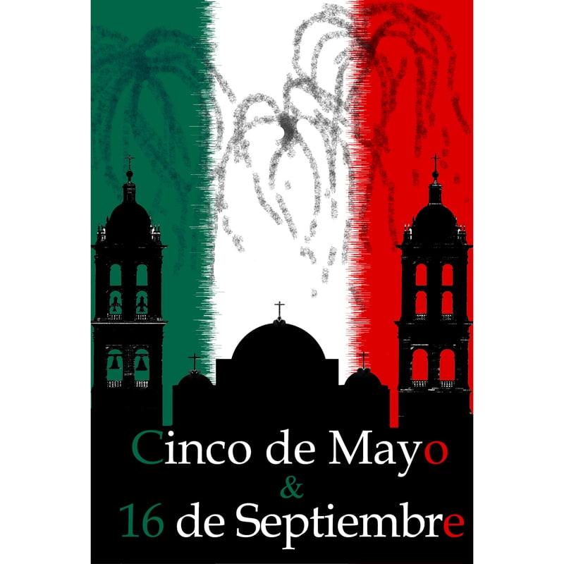 5 De Mayo Amp 16 De Septiembre DVD Inside Mexico