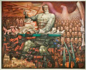 La Constitución Mural por Jorge Gonzalez Camarena