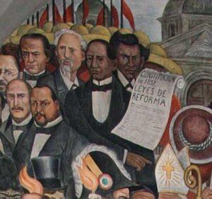 Benito Juarez Leyes de Reforma Diego Rivera
