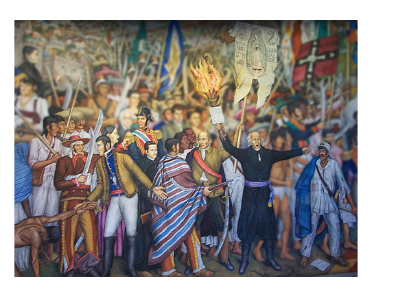 La Independencia De Mexico Inside Mexico