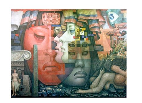 El Muralismo Mexicano Inside Mexico